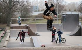 Outdoor-Skatepark