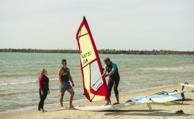 "Der Windsurfing-Club ""Rietumkrasts"""
