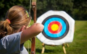 "Bow shooting range ""Archery Liepāja 3D"""
