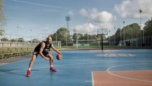 Kristapa Porziņģa basketbola laukumi
