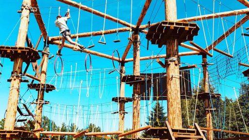 High Ropes course  Cietais rieksts  /  The Hard Nut