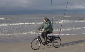 Sea bicycle-fishing