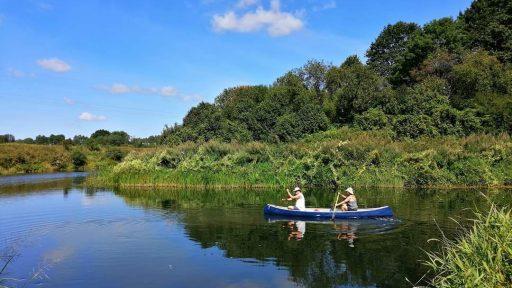 Canoe rental  Atvars laivas