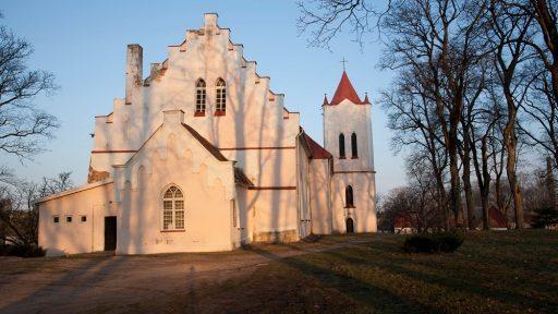 St. John's Lutheran Church in Aizpute