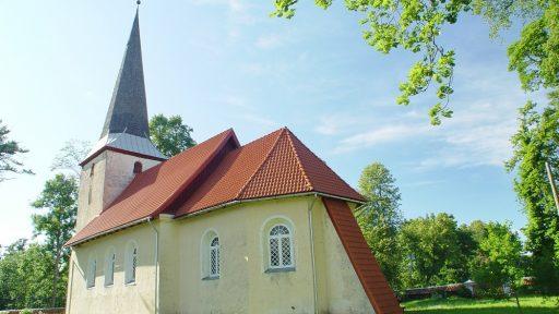 Die lutherische Kirche von Apriķi