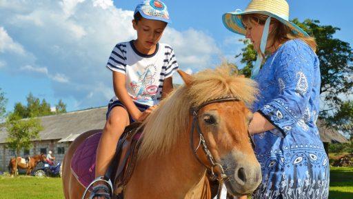 Horseback rides  Stiebriņi