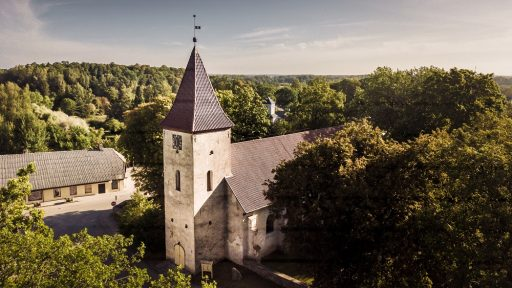 Lutherische Kirche von Durbe