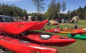 Rental of sea kayaks and inflatable SUP
