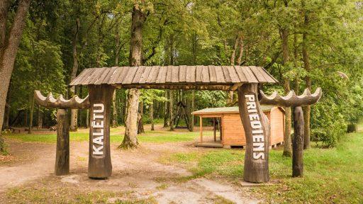 Waldpark  Priediens  in Kalēti