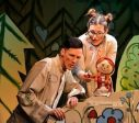 В среду, 8 апреля  в прямом эфире в интернете спектакль Лиепайского кукольного  театра