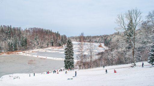 Winter fun around Liepāja