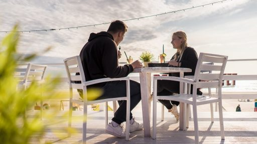 Liepāja restaurants and cafes with outdoor terraces