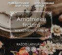 17. un 18.septembrī Rožu laukumā norisināsies Latvijas amatnieku tirgus